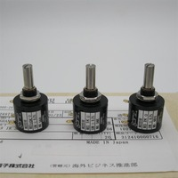 Japan imported Branch Po COPAL M22S10 Precision Multiturn Potentiometer switch 10 Ring 10K 5K 1K printer accessories