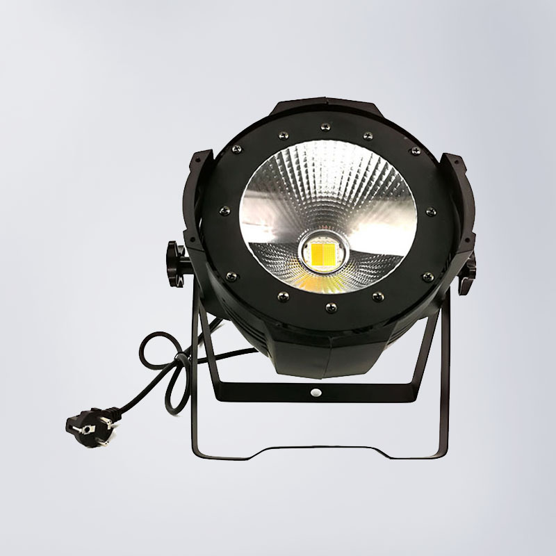 Stage Lights High Power 100W Warm White / Cold White Aluminum Alloy Led COB Light DMX 2 Channel Beam Angle splicing 2 light led blinders with 100w led cob x2 amber cold white color for audience blinding color warm
