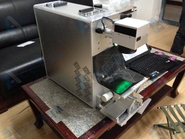 Fiber Laser Marking Machine Rubber Stamp Making