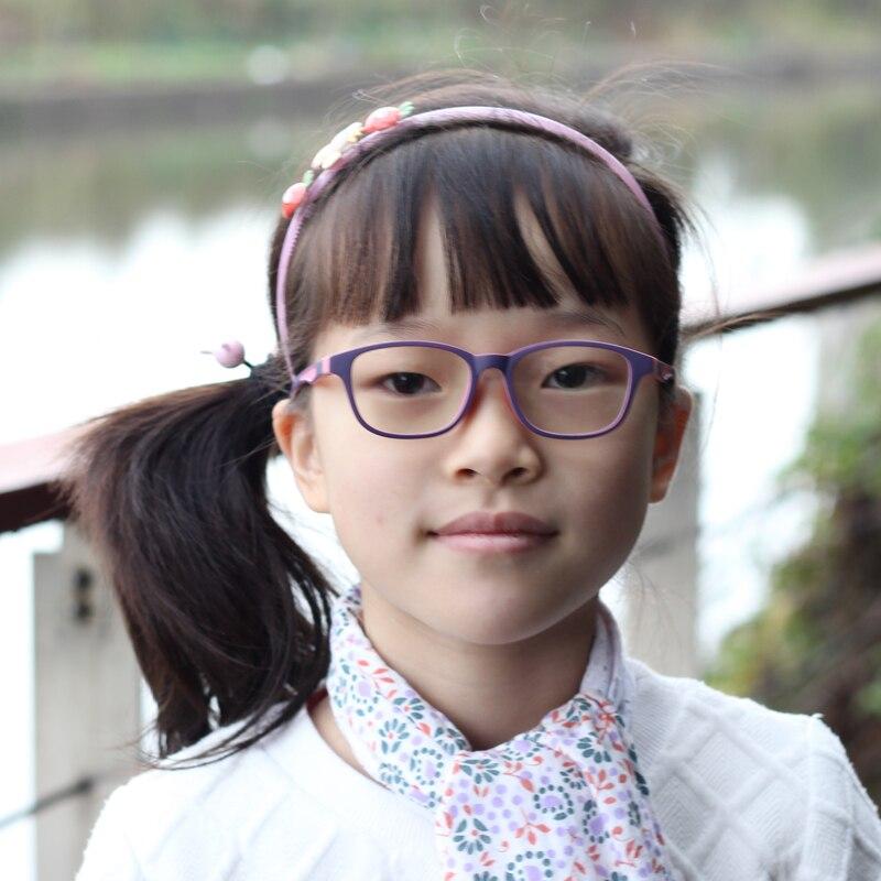 Herren-brillen Ausdauernd Kinder Brillen Kinder Flexible Tr90 Plain Gläser Rahmen Optische Rezept Brillen Rahmen Mädchen Jungen Rosa Patchwork Gläser Brillenrahmen