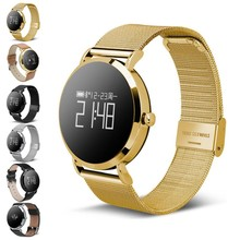 Купить с кэшбэком Original CV08 Smart Watch Women men fitness tracker Smart bracelet Heart Rate Blood Pressure Bluetooth Pedometer  Smartwatch
