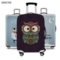 HMUNII Travel Suitcase Suitcase Trolley Case Protective Cover Dust Cover Elasticity 18 20 24 28 32