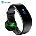 Teamyo S1 Heart Rate Monitor Smart Wristband Fitness Band Sleep Tracker Waterproof Bracelet for Android Phone pk fit bit