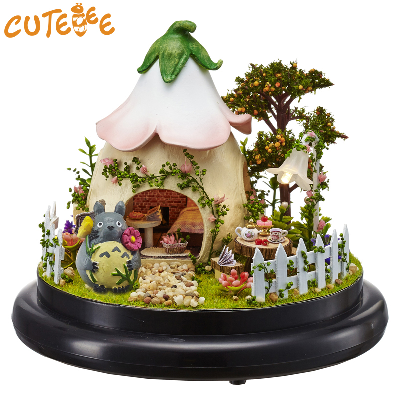 Responsible Cute Room Miniature Diy Dollhouse With Furnitures 3d Wooden Doll House Handmade Toys For Children Birthday Gifts B019 #e Doll Houses Toys & Hobbies