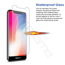 цена на 9H 2.5D Premium Tempered Glass For Doogee X70 X80 HD Clear Protective Glass For Doogee X70 X 70 Phone Screen Protector Film
