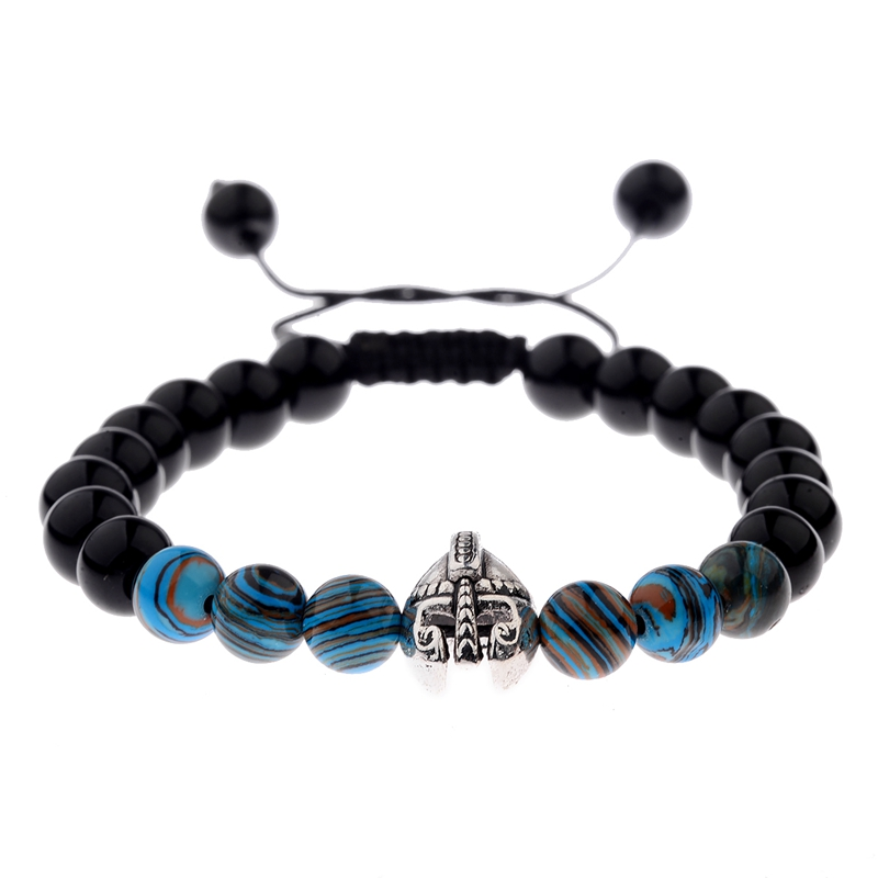 Warrior Gladiator Helmet Bright Bracelet