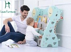 Луи Мода Детские книжные шкафы книжная полка детская игрушка Коллекция детского сада простая пластиковая мультяшная картина