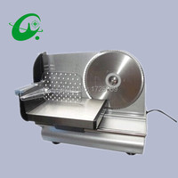 Electric meat slicer cutter, 0-15mm Thickness adjust Stainless steel Cutting meat slicer machine meat cutter 220V