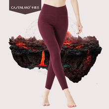 Womens wool pants five-layer thick trousers high waist middle-aged large size autumn and winter warm
