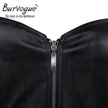 Leather Corset / Zipper / Steampunk