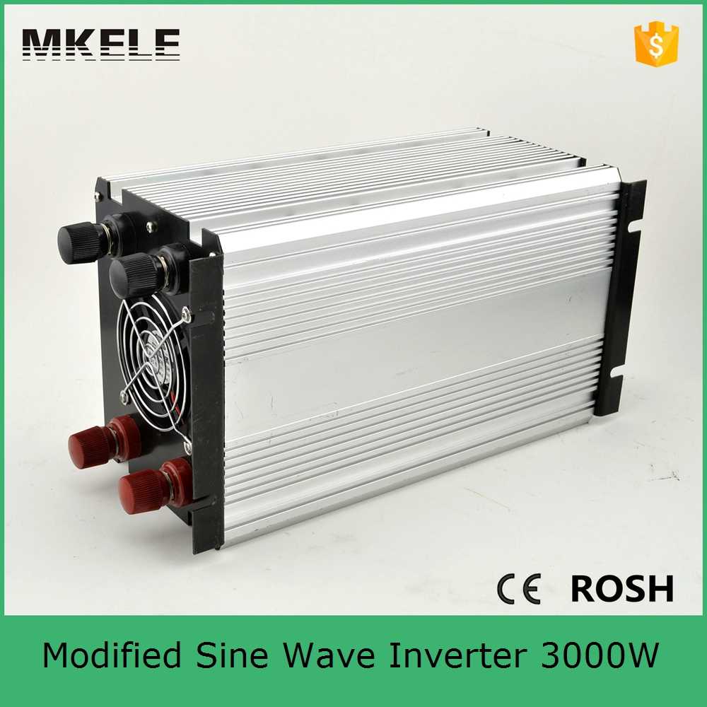цена на MKM3000-121G modified sine wave 3000 power inverter for camping power inverter 12vdc 120vac off grid single output with 5vdc usb