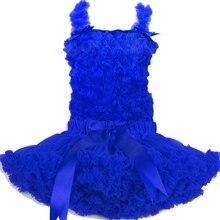 1 предмет; королевский синий комплект с юбкой-пачкой; комплект с шифоновой юбкой-пачкой для девочек; ; PS-RB