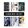 Kpop KPOP BIGBANG VIP Prefeito Fã Concerto Ao Vivo 2016 vivo em GD & TOP LOMBO Self-made cartões de Fotos do álbum de Foto cartão