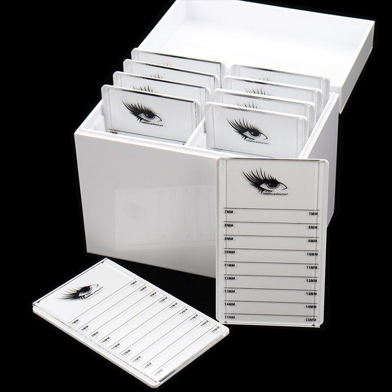 Colle de cils Palette Titulaire 10 Couches Clair Cils boîte de rangement organisateur de maquillage Faux Greffage Cils Extension Maquillage Outil
