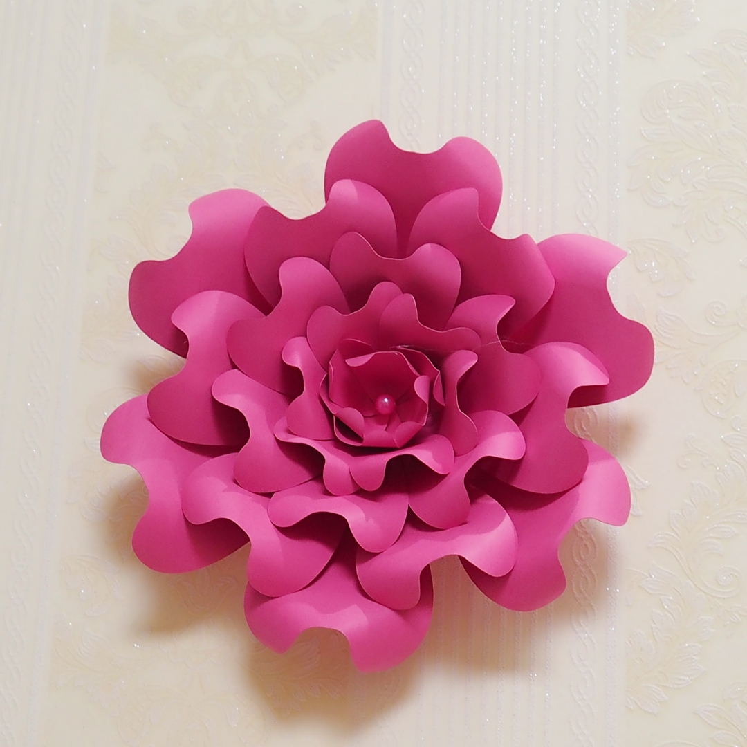 Aliexpress Buy 2018 Giant Paper Flowers Large Half Made Rose