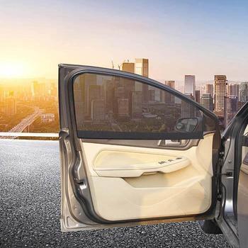 Magnético parasol de coche de protección UV coche de malla de cortina Auto frente a sol viseras parabrisas sombrillas de cubierta de sol