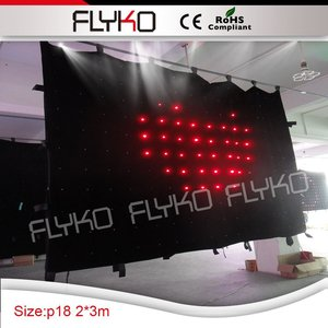 3x2m Top Led curtain for laser