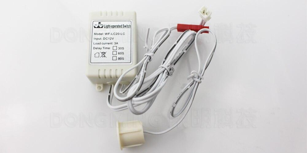 5 stks/partij sensor schakelaar WF-LC20-LC ingebouwde PIR bewegingssensor licht swicH touch schakelaar voor led barl/strip licht meubels licht
