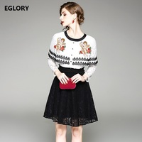 Freeshipping Dress Women New Style 2018 Spring Ladies Angel Baby Embroidery Cape Poncho Style Party Elegant