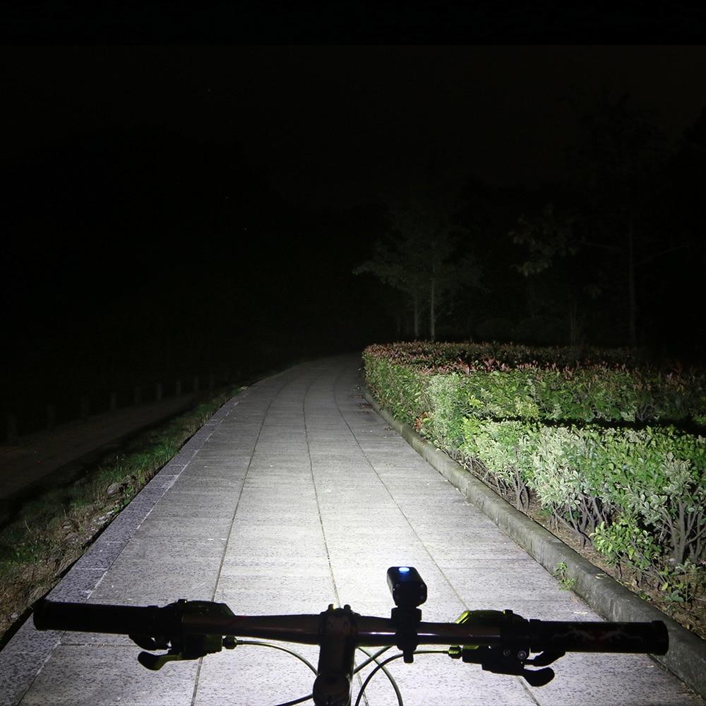 V9C Bicycle Light 7 Watt 400 Lumens 5 Mode 85 wide Bike LED cycling Front Bike lights Lamp Torch Waterproof ZOOM flashlight