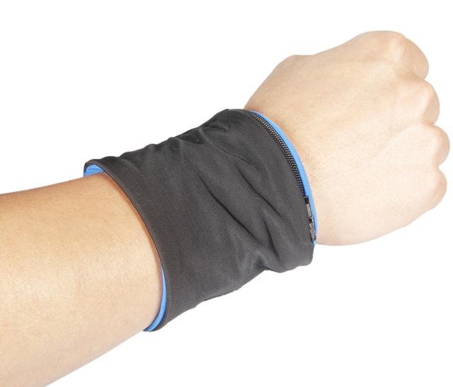Reflective Wristband Storage for Sports
