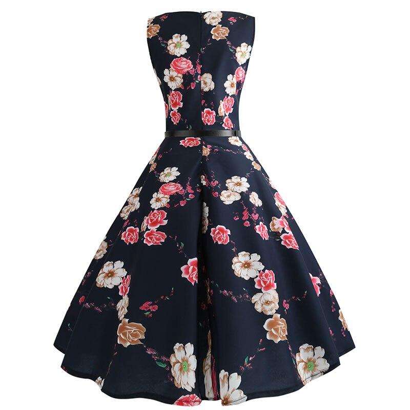 Blue Vintage Swing Dress 7