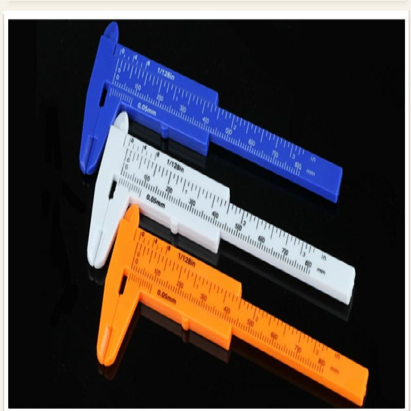 80MM Length Vernier Caliper Mini Vernier Caliper Jewelry Accessories Mini Bead Measurement Tool