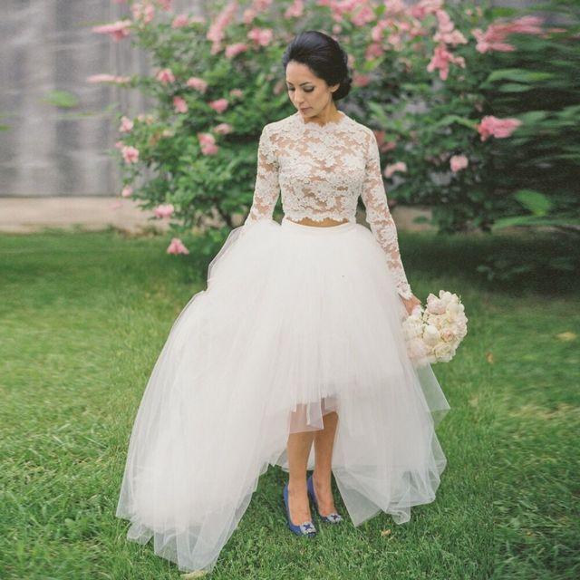 Chic Haute Basse Puffy Fête Femmes Taille la De Blanc pour Mesure Jupes Eleastic Tulle Sur FqxrHIF