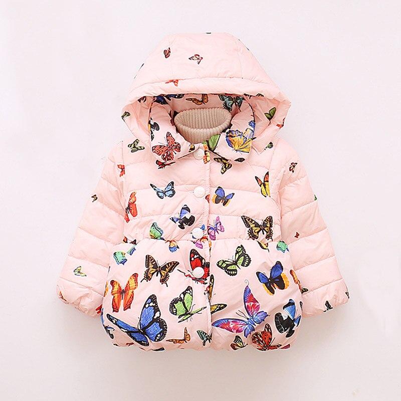 LZH Baby Girls Jacket 19 Autumn Winter Jacket For Girls Coat Kids Warm Hooded Outerwear Coat For Girls Clothes Children Jacket 43