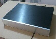 Carcasa de amplificador 340*62*248mm 3406 todo el chasis del amplificador de aluminio/preamplificador/carcasa de DAC/AMP recinto/carcasa de amplificador/caja DIY
