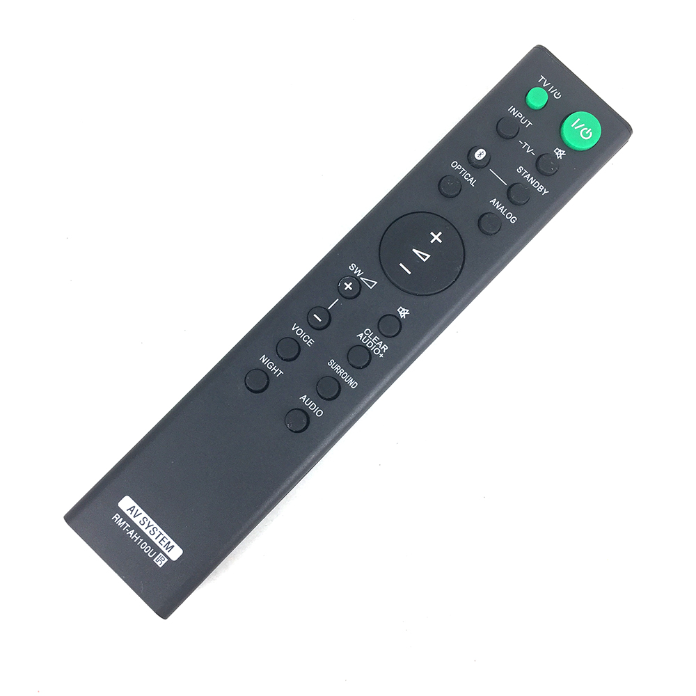 High Quality New Replacement Sound Bar Remote Control for Sony RMT AH100U HT CT180 SA CT180 SA WCT180 SoundBar Controller in Remote Controls from Consumer Electronics