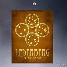 Steampunk Art Print Wall Poster Lederberg 1922 Painting Printed On Canvas gift Landscape Rectangle Canvas Printings