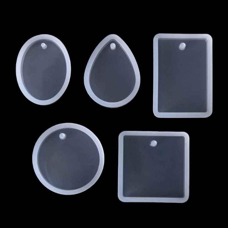 1 סט אפוקסי שרף ערכת DIY תכשיטי ביצוע כלים מבריק אבקת כוס סיליקון עובש שרשרת תליון טבעת מתנות בעבודת יד Creative