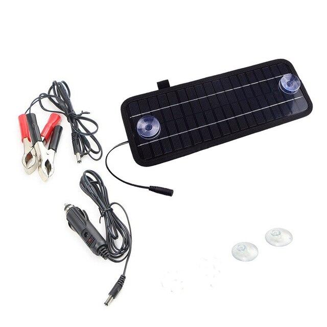 12V 4.5W Portable Power Solar Panel For Car  2