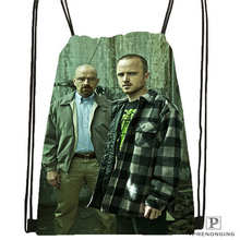 Custom breaking_bad@1 Drawstring Backpack Bag Cute Daypack Kids Satchel (Black Back) 31x40cm#2018611-1