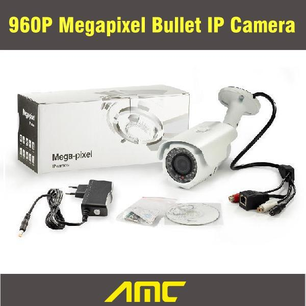 High Quality 960P 1.0 Megapixel Security IP Camera Outdoor CCTV Camera IP HD Onvif Night Vision Waterproof Bullet Camera wistino 1080p 960p wifi bullet ip camera yoosee outdoor street waterproof cctv wireless network surverillance support onvif