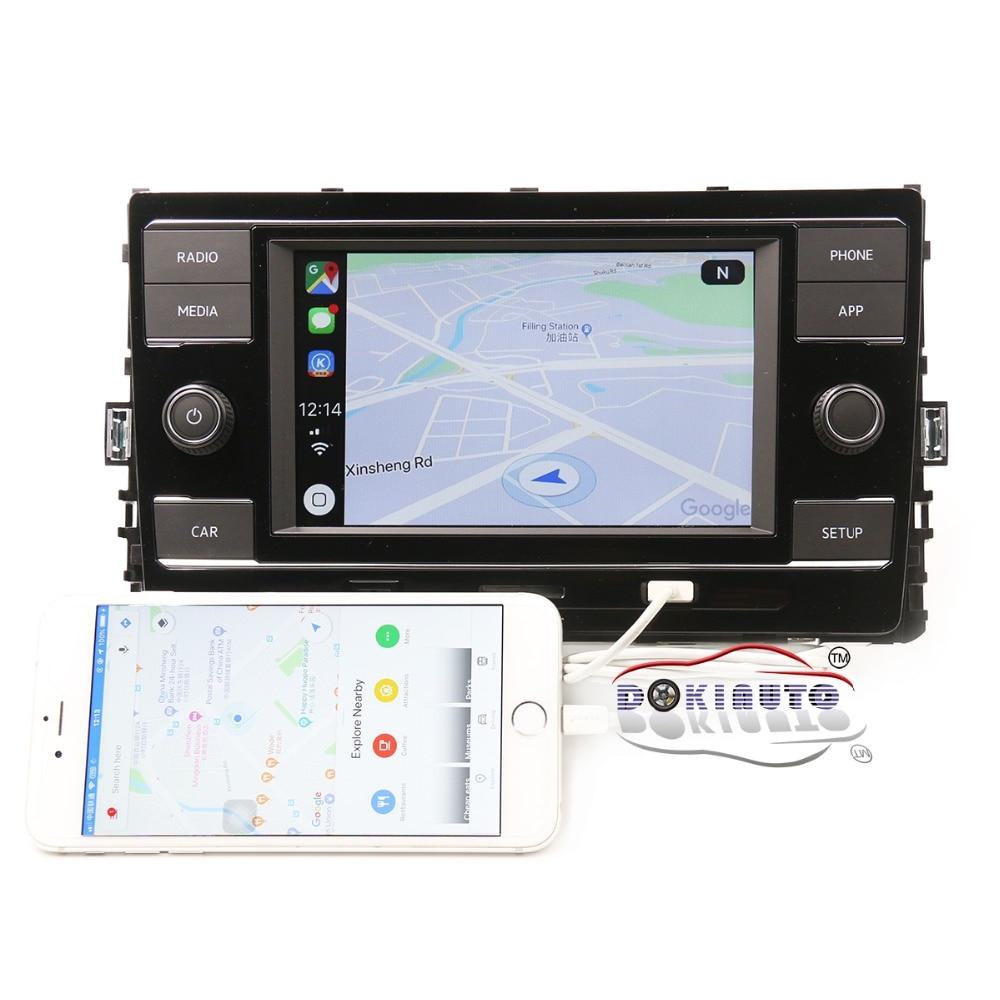 Carplay MIB2 Radio 5GG035280D E CarPlay Mirrorlink Upper Motherboard For VW GOlf 7 VII Sportvan Passat