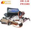 Высокое качество V2.10 Неограниченная Версия KTAG К TAG ЭКЮ Инструмент К-TAG Мастер Оборудования V5.001 Бесплатная Доставка