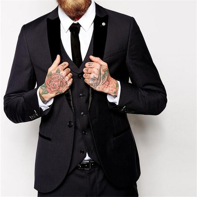 Aliexpress.com : Buy Inexpensive Mens Suits 3 Piece Brand Clothing ...