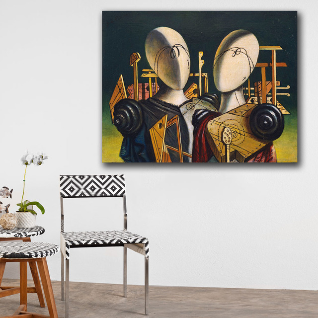Canvas Oil Painting For Living Room Home Decoration  4