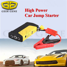 High Power Starting Device Petrol Diesel 12V Car Jump Starter Portable 400A Car Charger Mini 2USB Power Bank SOS Light Free Ship