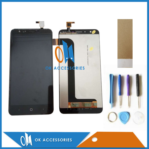 Colore Bianco nero Per Doogee Y6 Y6C Touch Screen Digitizer + Display LCD Con Kit 1 Pz/lotto