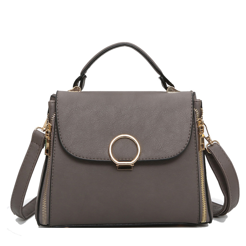 Luxury Handbags Women Bags Designer Leather Women Messenger Bags Fashion Solid Double Zipper Shoulder Bag Female bolsa feminina boston double zipper women leather handbags silver black messenger bags best shoulder bag free shipping