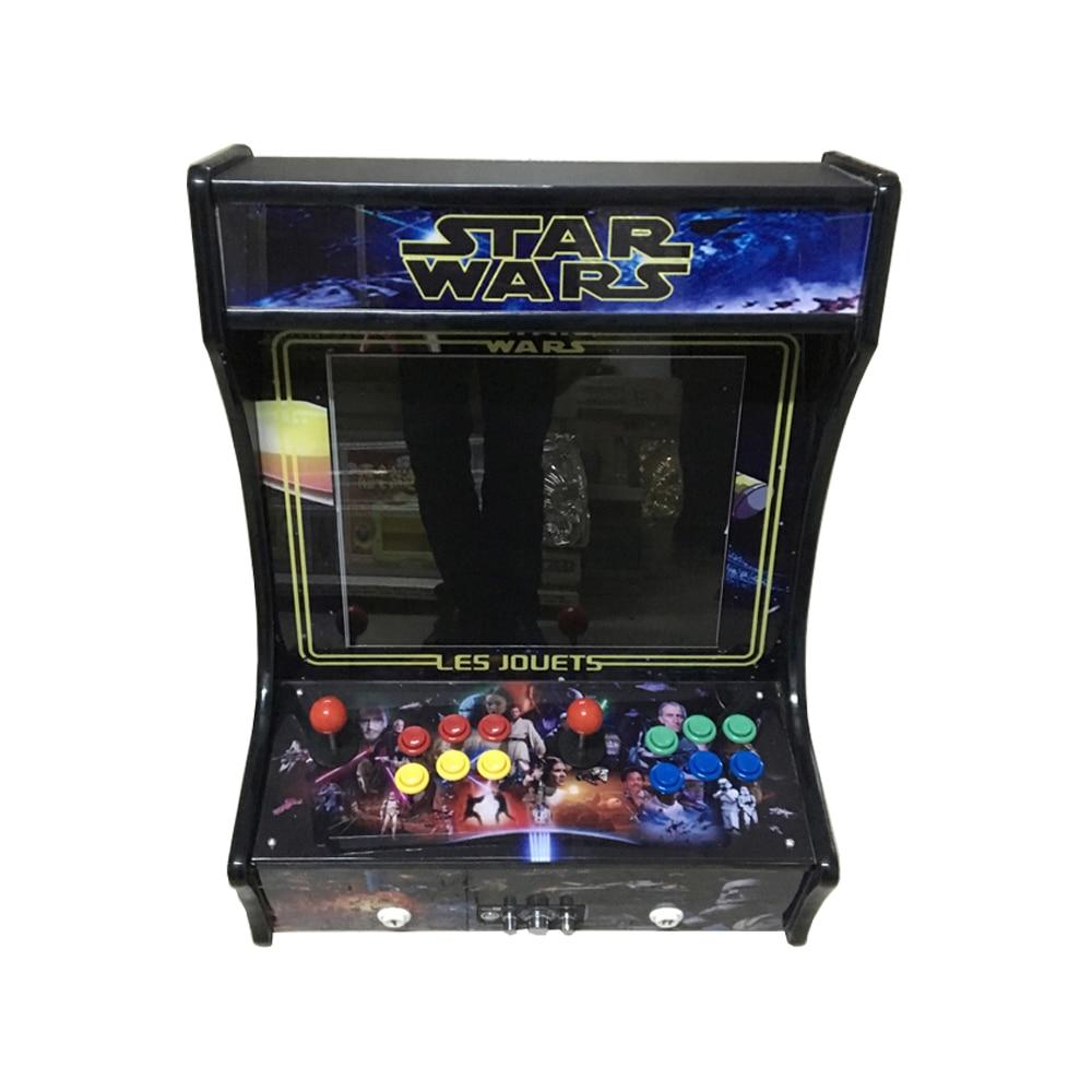 22 inch mini game machine with 960 in 1 PCB/mini desktop arcade cabinet/table top arcade cabinet desktop mini mini pool snooker table game set green size m