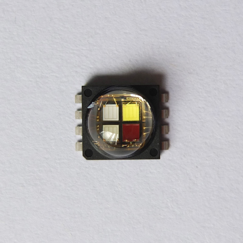 2pcs/lot US.CREE MCE Beads RGBW 10W High Power LED Chip 4-in-1 chip, color+white 2pcs lot tps65181 qfn laptop chip offen use chip new original
