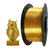 Silk Golden Metal 3D Printing PLA Filament 1.75mm 1KG Material Best Seller Creative Plastic Shiny