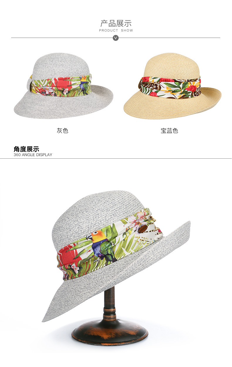 488924b9 Classical fishing hat are an effective accessory to make you look great on summer  beach, while the brim of wide brim fedora can well protect you from the ...