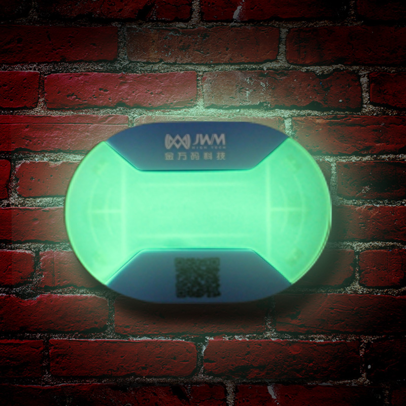 JWM 10pcs Night Illuminating 125KHz RFID EM Inductive Guard Tour Checkpoints 76mm×56mm×10mm
