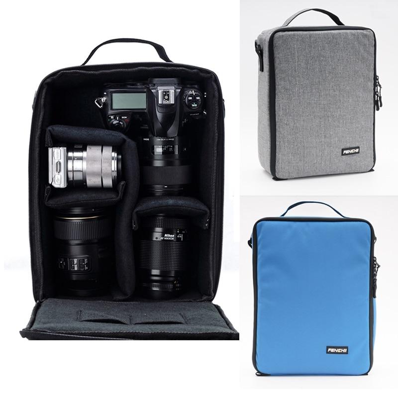 Waterproof Camera Backpack Bag Lens Carry For Canon Nikon Sony Pentax Fuji