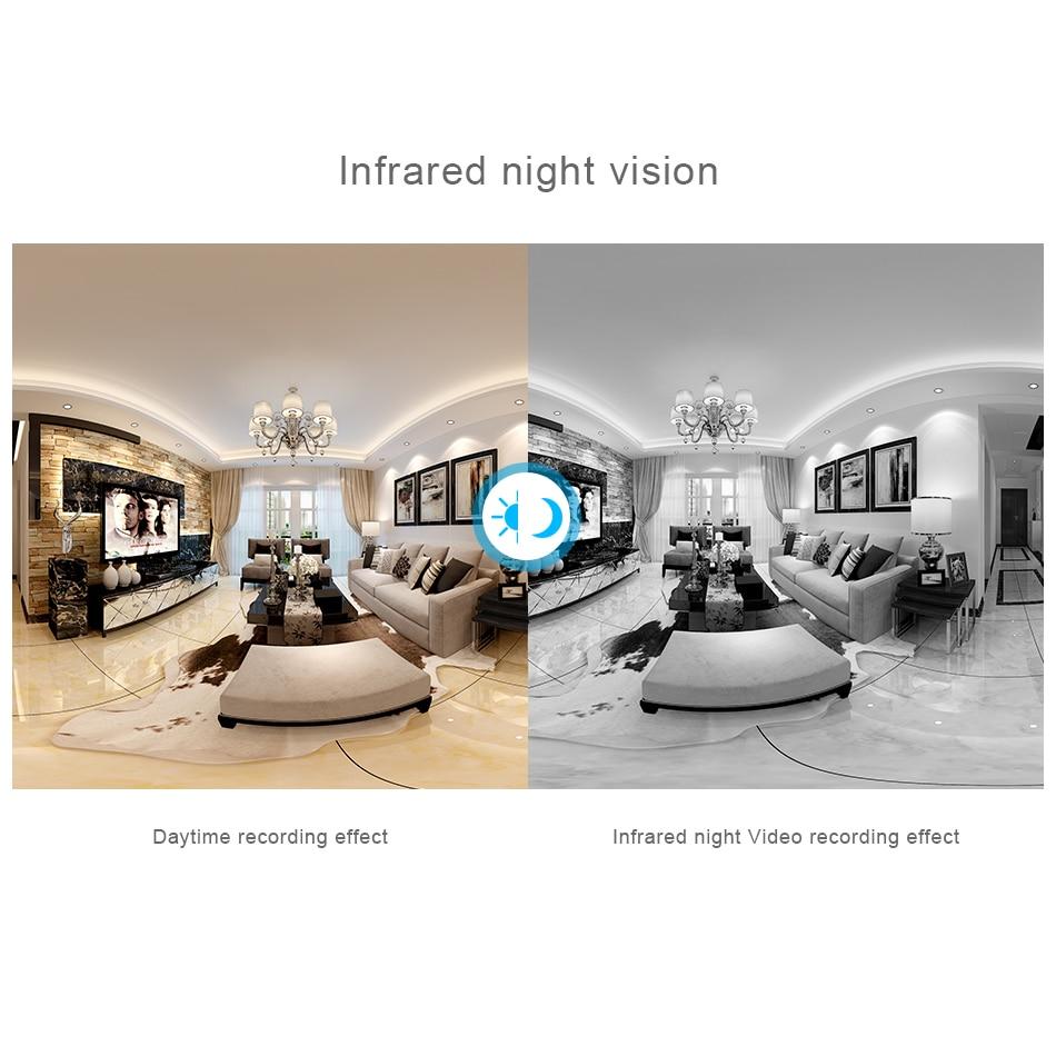 Kamera HD FishEye IP 960P 360 stopni Pełny widok Mini kamera CCTV - Bezpieczeństwo i ochrona - Zdjęcie 4